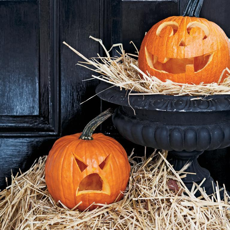 "<p>All you really need to make this pumpkin carving idea is a tiny pumpkin and a carving knife.</p><p><em><strong><a href=""https://www.womansday.com/home/decorating/a28916993/jack-be-little/"" rel=""nofollow noopener"" target=""_blank"" data-ylk=""slk:Get the Jack Be Little tutorial."" class=""link rapid-noclick-resp"">Get the Jack Be Little tutorial.</a></strong></em></p>"