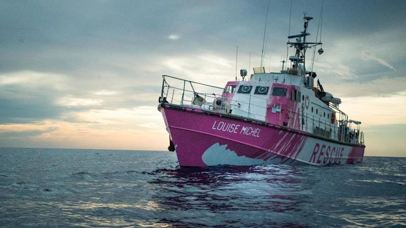 Banksy-funded Mediterranean rescue vessel calls for urgent help