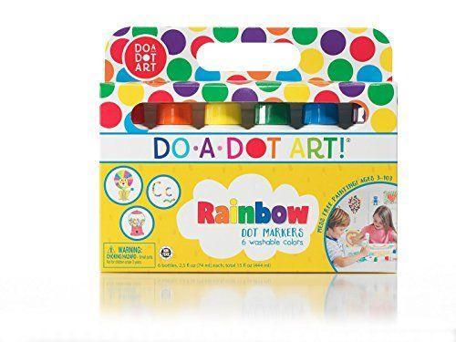 """<p><strong>Do.A.Dot Art!</strong></p><p>amazon.com</p><p><strong>$16.99</strong></p><p><a href=""""https://www.amazon.com/dp/B00004W3Y4?tag=syn-yahoo-20&ascsubtag=%5Bartid%7C10050.g.19618668%5Bsrc%7Cyahoo-us"""" rel=""""nofollow noopener"""" target=""""_blank"""" data-ylk=""""slk:Shop Now"""" class=""""link rapid-noclick-resp"""">Shop Now</a></p><p>With these washable dot markers, your toddler can create a cute card or piece of artwork for Mother's Day.</p>"""