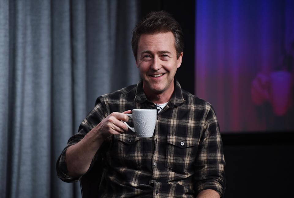 LOS ANGELES, CALIFORNIA - DECEMBER 05: Actor Edward Norton attends the SAG-AFTRA Foundation Conversations with Edward Norton event at the SAG-AFTRA Foundation Screening Room on December 05, 2019 in Los Angeles, California. (Photo by Amanda Edwards/Getty Images)