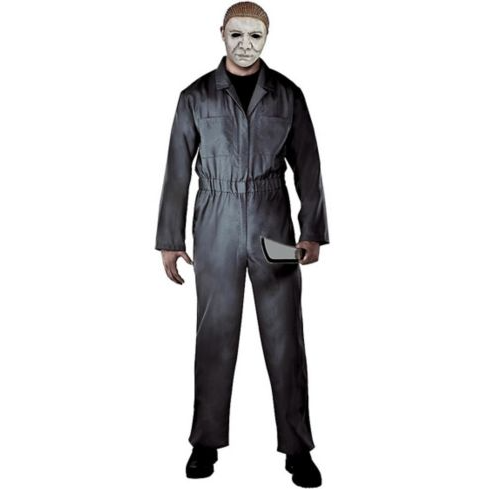 Adult Halloween Grey Michael Myers Costume. Photo via Party City.