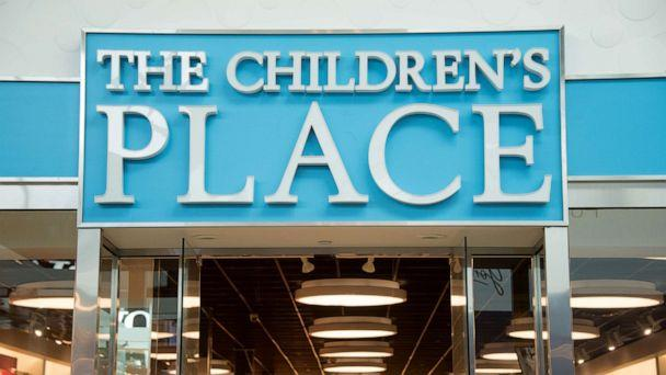 PHOTO: The Children's Place store entrance and signage. (Roberto Machado Noa/LightRocket via Getty Images, FILE)