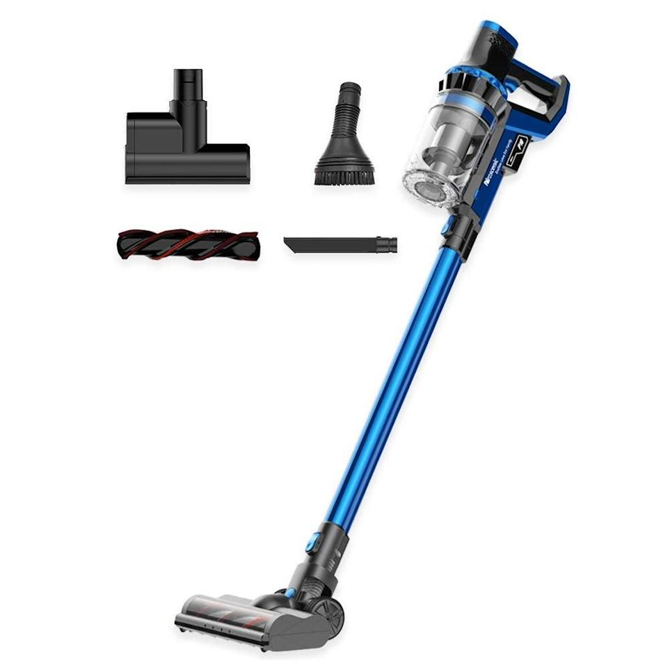 """<br><br><strong>Proscenic</strong> P10 Cordless Vacuum Cleaner, $, available at <a href=""""https://amzn.to/3iRFVZ7"""" rel=""""nofollow noopener"""" target=""""_blank"""" data-ylk=""""slk:Amazon"""" class=""""link rapid-noclick-resp"""">Amazon</a>"""