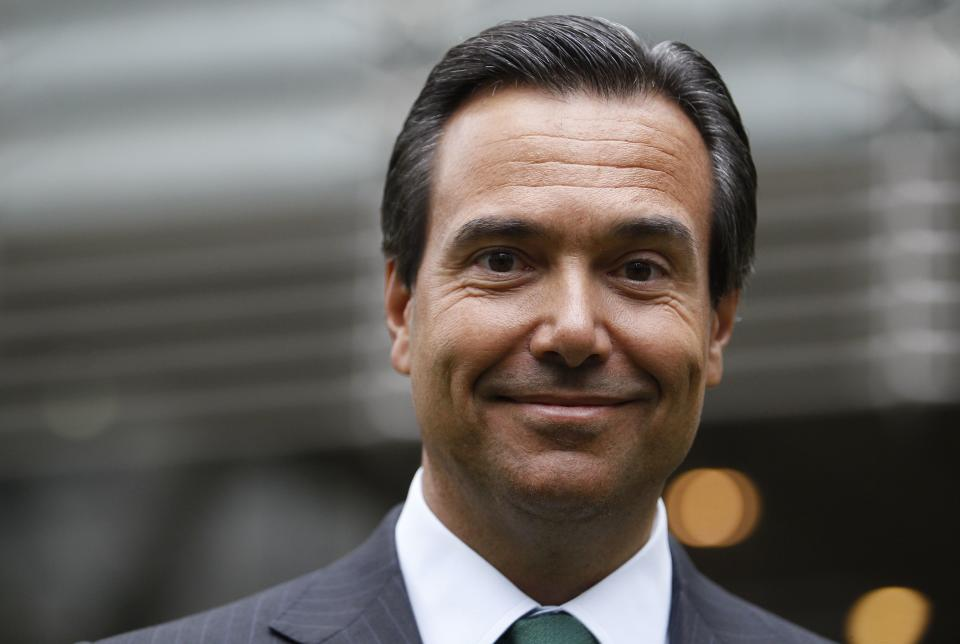 Lloyds Banking Group CEO Antonio Horta-Osorio. Photo: Andrew Winning/Reuters