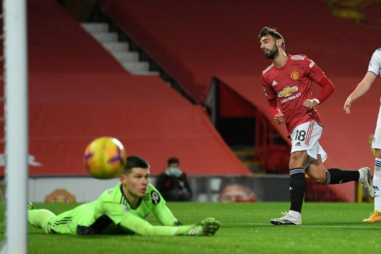 Bruno Fernandes (right) has transformed Manchester United's fortunes over the past year