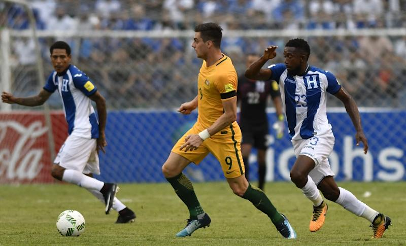Socceroos back in Australia, get 1st advantage over Honduras