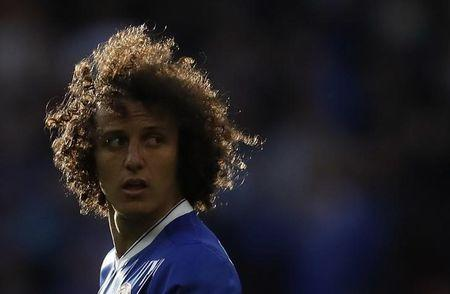 Zagueiro do Chelsea David Luiz