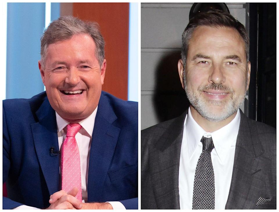 Piers Morgan has lashed out at Britain's Got Talent judge David Walliams (Rex)