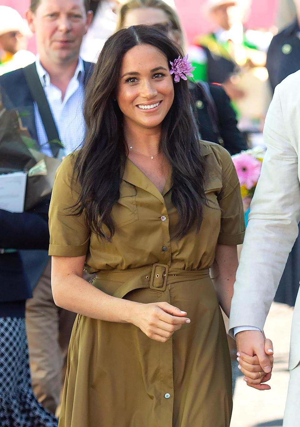 Meghan Markle in South Africa in 2018 (Photo: Pool/Samir Hussein via Getty Images)