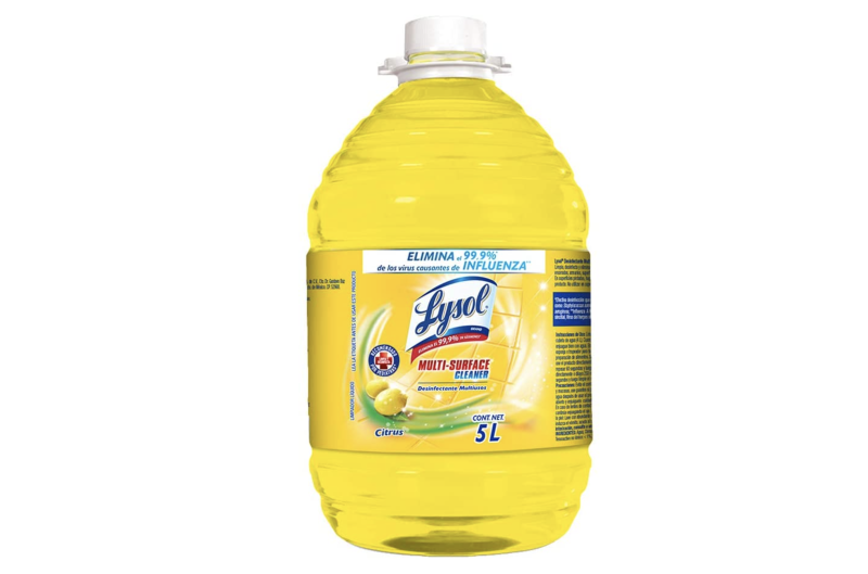Lysol Desinfectante Multiusos, 5 L. Foto: amazon.com.mx