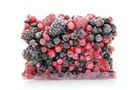 <p>If you're finding it difficult to work with fresh produce that has a short shelf life, stock up on frozen fruits and veggies that aren't loaded with preservatives. These can make for quick smoothies or meals when you're in a pinch. You can also stock up on frozen meats or seafood to use when needed. </p>