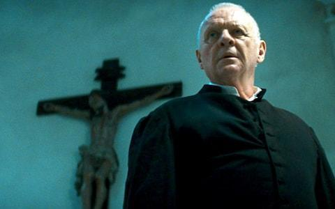 Sir Anthony Hopkins plays a Jesuit exorcist who runs an exorcism course in Rome in the 2011 film The Rite - Credit: Rex