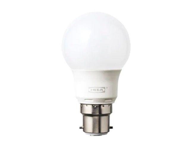 "<p><a class=""body-btn-link"" href=""https://www.ikea.com/gb/en/products/lighting/light-bulbs-accessories/ryet-led-bulb-b22-400-lumen-globe-opal-white-art-40387472/"" target=""_blank"">BUY NOW</a></p><p>This energy saving LED light bulb uses 85 per cent less energy and can be sure to brighten your home for up to 20 years.<em><br><br>We earn a commission for products purchased through some links in this article.</em><br></p>"
