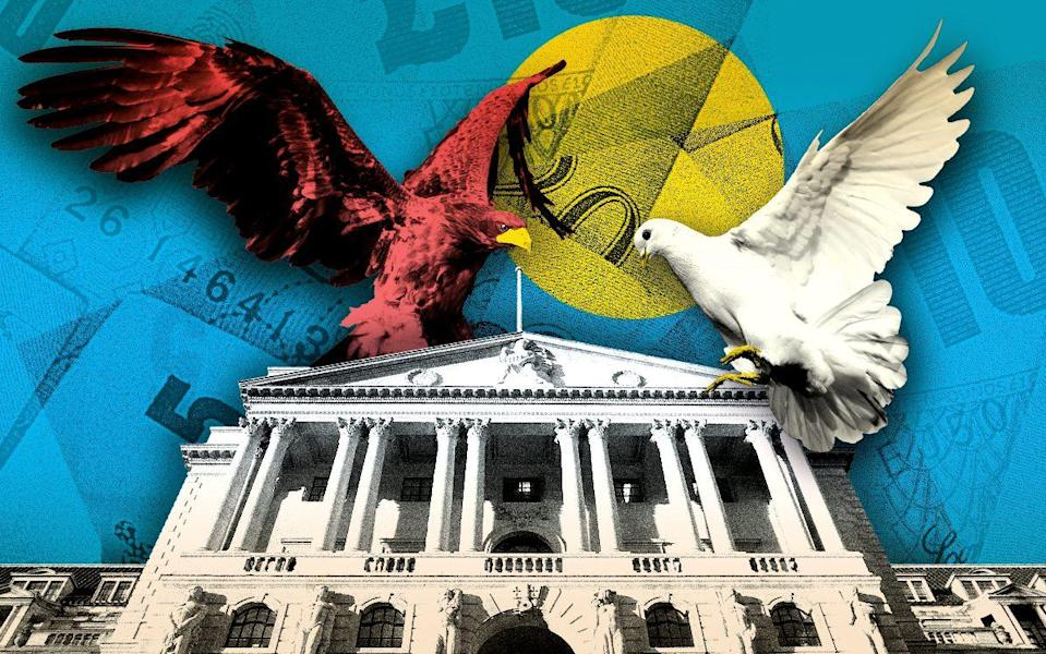 hawk and dove on bank of england
