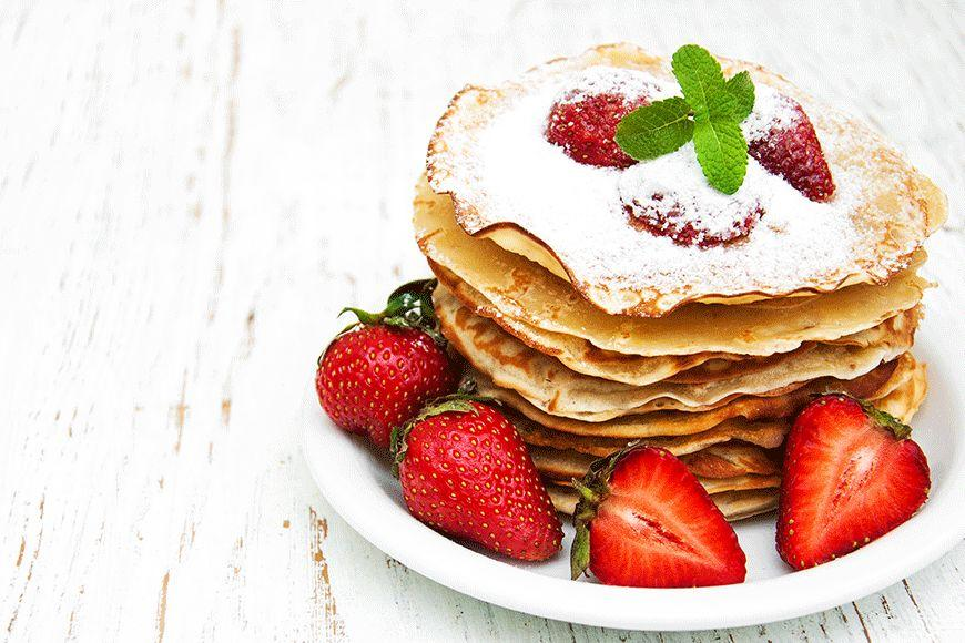 """If you're after irresistibly fluffy pancakes bursting with buttery flavour, give this <a rel=""""nofollow"""" href=""""http://au.lifestyle.yahoo.com/food/recipes/recipe/-/12937116/traditional-pancakes/"""">traditional pancakes</a> recipe a go!"""