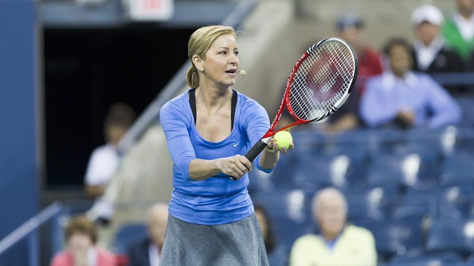 """<p><span>Anyone with even a passing familiarity with tennis knows the name Chris Evert. After playing in her first Grand Slam tournament in 1971 at the age of 16, Evert went on to win 18 Grand Slams singles titles (tied for fifth-best in women's history) and play in the finals of 34. Evert holds a big record over every tennis player who has ever picked up a racket, male or female — her astonishing .900 winning percentage (1,309-148).</span></p> <p><a href=""""https://www.gobankingrates.com/net-worth/sports/what-is-chris-evert-net-worth/?utm_campaign=1130237&utm_source=yahoo.com&utm_content=5&utm_medium=rss"""" rel=""""nofollow noopener"""" target=""""_blank"""" data-ylk=""""slk:See what her net worth adds up to."""" class=""""link rapid-noclick-resp"""">See what her net worth adds up to.</a></p> <p><em><strong>Read More: </strong></em><em><strong><a href=""""https://www.gobankingrates.com/net-worth/sports/successful-athlete-decade/?utm_campaign=1130237&utm_source=yahoo.com&utm_content=6&utm_medium=rss"""" rel=""""nofollow noopener"""" target=""""_blank"""" data-ylk=""""slk:Most Successful Athlete From Every Decade"""" class=""""link rapid-noclick-resp"""">Most Successful Athlete From Every Decade</a></strong></em></p> <p><small>Image Credits: lev radin / Shutterstock.com</small></p>"""