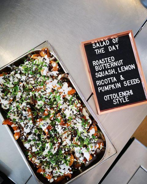"<p><a href=""https://ottolenghi.co.uk/delivery"" rel=""nofollow noopener"" target=""_blank"" data-ylk=""slk:Ottolenghi"" class=""link rapid-noclick-resp"">Ottolenghi</a>'s original outpost in Notting Hill is now open for delivery and click-and-collect. Expect a host of delicious salads and bakes that can reheated at home, from roasted aubergine with tahini and croutons, to cauliflower tabbouleh with grilled asparagus, cashews and pomegranate seeds. Those hankering for sweet treats will be pleased to know that cakes and pastries are also available.</p><p><strong>Delivery radius</strong>: Within 2.5 miles.</p><p><a href=""https://www.instagram.com/p/B_5pxsbH5cp/?utm_source=ig_embed&utm_campaign=loading"" rel=""nofollow noopener"" target=""_blank"" data-ylk=""slk:See the original post on Instagram"" class=""link rapid-noclick-resp"">See the original post on Instagram</a></p>"