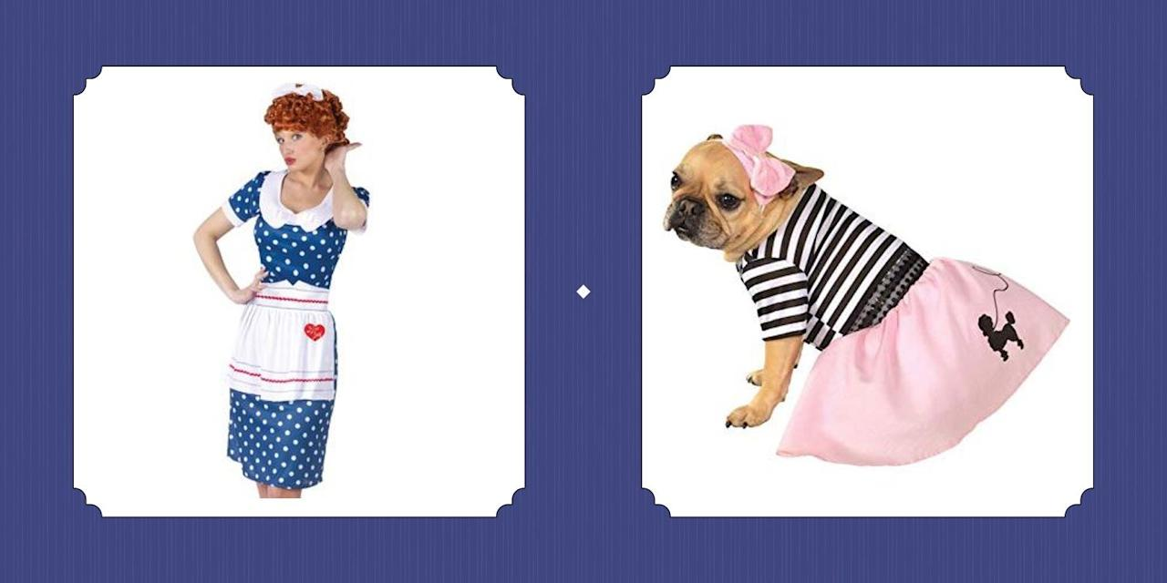"""<p><a href=""""https://www.countryliving.com/entertaining/g4620/halloween-party-themes/"""">Halloween's always fun</a>—but don one of our favorite '50s costume ideas, and you'll be in for an even bigger treat this year. From the telltale red wig of an <em>I Love Lucy</em> getup to the flowy white dress of a Marilyn Monroe look, each and every one of our fun 1950s Halloween costumes is a serious <a href=""""https://www.countryliving.com/entertaining/g460/vintage-halloween/"""">blast from the past</a>. And whether you're a millennial who just loves the vibe of those way-back-when days, or a baby boomer looking for a chance to relive your glory days, odds are, you'll be jumping at the chance to take a couple cues from the decade. Throw on a pretty pink poodle skirt, try a daring (but glamorous) pin-up girl style, or throw your cares to the wind and rock a full-on <a href=""""https://www.countryliving.com/diy-crafts/g22133528/grease-halloween-costumes/"""">rockabilly outfit à la <em>Grease</em></a>. These costume ideas aren't just for women either; <a href=""""https://www.countryliving.com/diy-crafts/a22142517/diy-mens-halloween-costumes/"""">men can—and totally should—get in on the fun</a> as well. We assure you, your guy will look <em>beyond</em> <em></em>dapper in a 1950s-style suit, and you'll look positively fantastic <a href=""""https://www.countryliving.com/diy-crafts/g4616/diy-halloween-costumes-for-couples/"""">by his side.</a> Just make sure you know how to hand jive, and you're on your way to being the talk of this year's Halloween bash. </p>"""