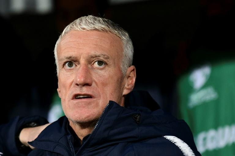 Didier Deschamps led France to the final of Euro 2016 where they lost 1-0 to Portugal after extra time in Paris (AFP Photo/Jonathan NACKSTRAND)