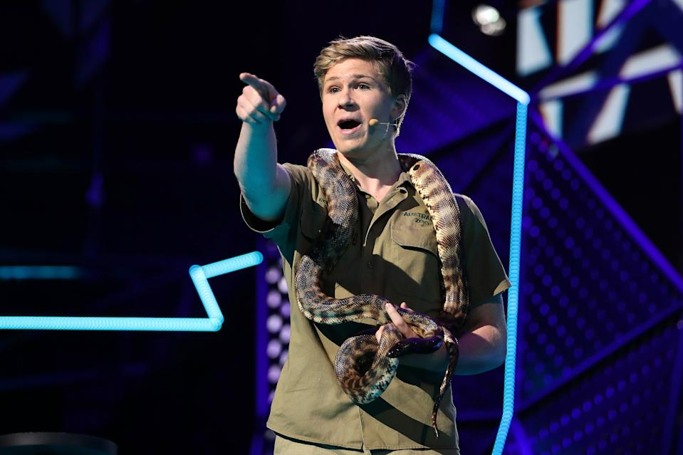 SYDNEY, AUSTRALIA - NOVEMBER 27: Robert Irwin during the 33rd Annual ARIA Awards 2019 at The Star on November 27, 2019 in Sydney, Australia. (Photo by Mark Metcalfe/Getty Images)