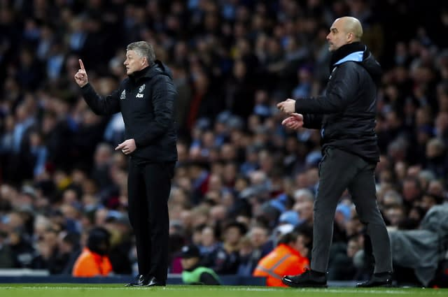 Manchester City beat Manchester United in the semi-final of last season's Carabao Cup