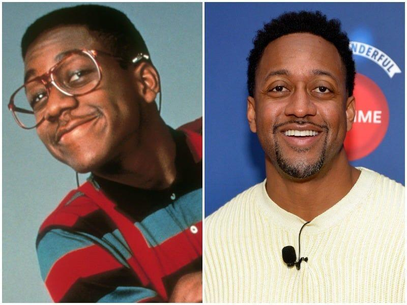 Jaleel White, then and now.