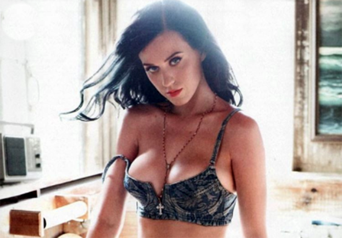 Even Katy Perry needs a confidence boost.