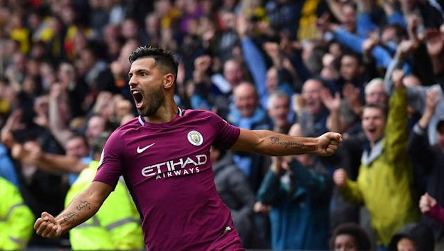 <p>Aguero gave Watford an absolute hiding on Saturday in Manchester City's 6-0 win over the Hornets, showcasing why he is still rated by many as the best striker in the Premier League.</p> <br><p>The Argentine looks fearsome playing alongside Gabriel Jesus and with players like Kevin De Bruyne and David Silva supplying him with quality chances, he looks back to his best.</p> <br><p>The former Atletico Madrid forward looks set to hit 20 Premier League goals again this season, barring any injuries or a dramatic downturn in form, which would be the fifth time he has reached that figure in a single campaign.</p>