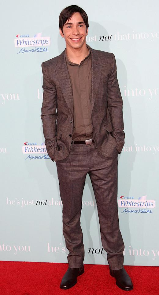 """<a href=""""http://movies.yahoo.com/movie/contributor/1804512153"""">Justin Long</a> at the Los Angeles premiere of <a href=""""http://movies.yahoo.com/movie/1809932969/info"""">He's Just Not That Into You</a> - 02/02/2009"""