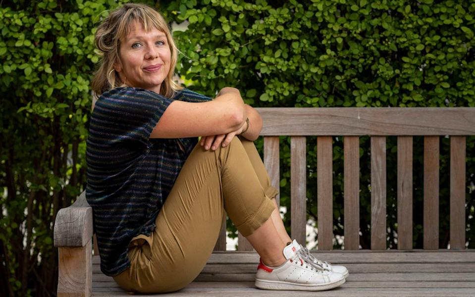 Kerry Godliman stars in Adult Material, a drama about the British adult entertainment industry - Andrew Crowley/The Telegraph