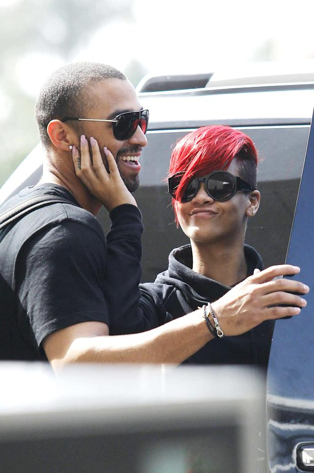 """Following a traumatic relationship with Chris Brown, """"Love The Way You Lie"""" singer Rihanna has found love with LA Dodgers slugger Matt Kemp. Do you think the two make a cute couple? Nathanael Jones/Sam Sharma/<a href=""""http://www.pacificcoastnews.com/"""" target=""""new"""">PacificCoastNews.com</a> - July 2, 2010"""