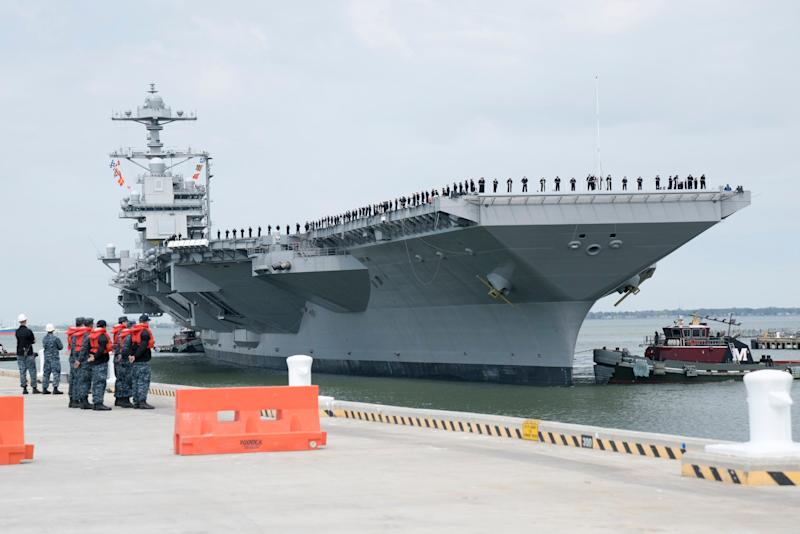 Next-generation aircraft carrier: builder's sea trials done