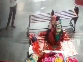 Caught on camera: Man, woman abduct 8-month-old after befriending her mother at bus stand in UP