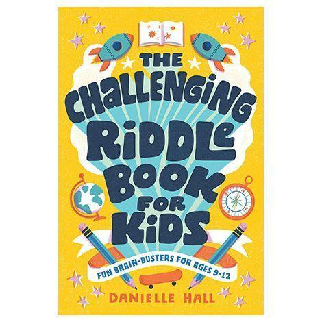 """<p>braveandkindbooks.com</p><p><strong>$7.99</strong></p><p><a href=""""https://www.braveandkindbooks.com/products/the-challenging-riddle-book-for-kids-danielle-hall"""" rel=""""nofollow noopener"""" target=""""_blank"""" data-ylk=""""slk:Shop Now"""" class=""""link rapid-noclick-resp"""">Shop Now</a></p><p>Kids need to use their problem-solving abilities and creative-thinking skills to get through these 200 riddles. The book includes new puzzles along with famed historical ones, like the Riddle of the Sphinx, and if kids get stuck there are hints to help them. <em>Ages 9+</em></p>"""