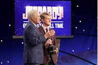 """<p>Talking about the strategy of the game, <a href=""""https://www.vulture.com/2018/11/alex-trebek-jeopardy-in-conversation.html?utm_campaign=nym&utm_source=tw&utm_medium=s1"""" rel=""""nofollow noopener"""" target=""""_blank"""" data-ylk=""""slk:Alex told Vulture"""" class=""""link rapid-noclick-resp"""">Alex told <em>Vulture</em></a> in a 2018 interview, """"What bothers me is when contestants jump all over the board even after the Daily Doubles have been dealt with. Why are they doing that? They're doing themselves a disservice. When the show's writers construct categories they do it so that there's a flow in terms of difficulty, and if you jump to the bottom of the category you may get a clue that would be easier to understand if you'd begun at the top of the category and saw how the clues worked. I like there to be order on the show, but as the impartial host I accept disorder.""""</p>"""