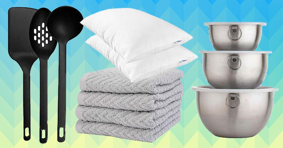 Simply Essential is packed with super-affordable basics. (Photo: Bed Bath & Beyond)