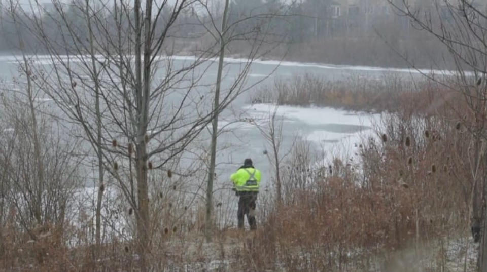 Boy, 11, dies in hospital after falling through thin ice at Milton pond