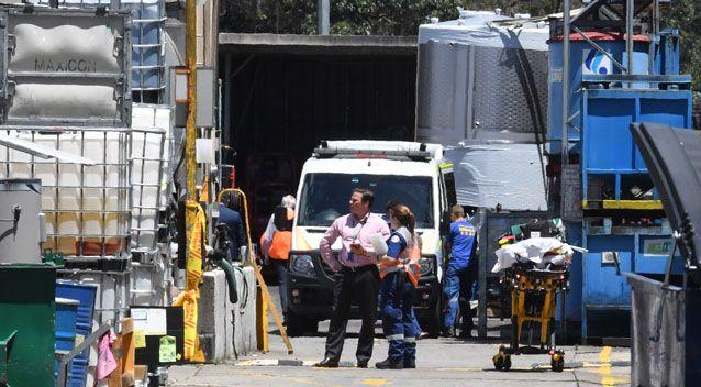 One of the men rescued was transported to Westmead Hospital with leg fractures. Photo: AAP