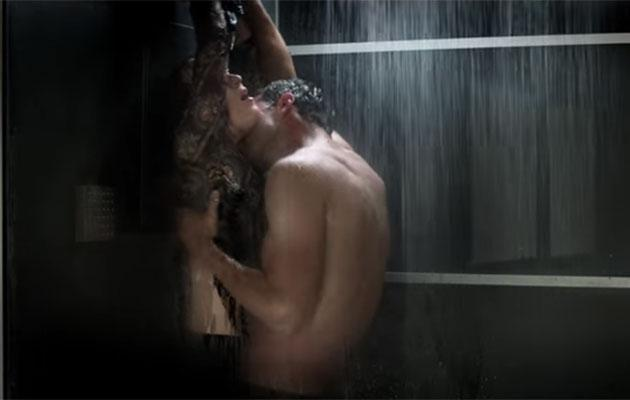 That shower scene EVERYONE has been talking about.
