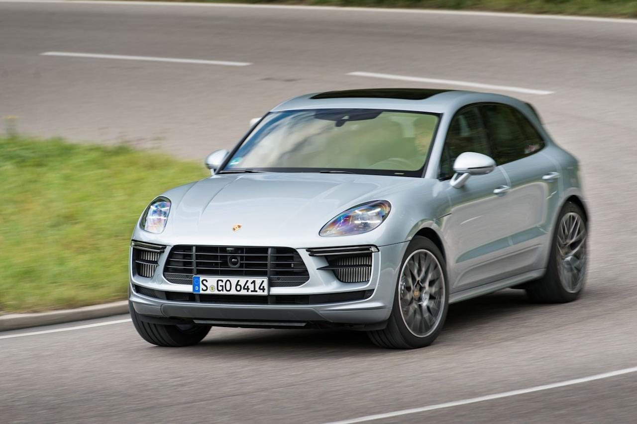 <p>The Macan Turbo is powered by a twin-turbo 2.9-liter V-6 also found in the Panamera and Cayenne. It produces 434 horsepower and 405 lb-ft of torque here.</p>