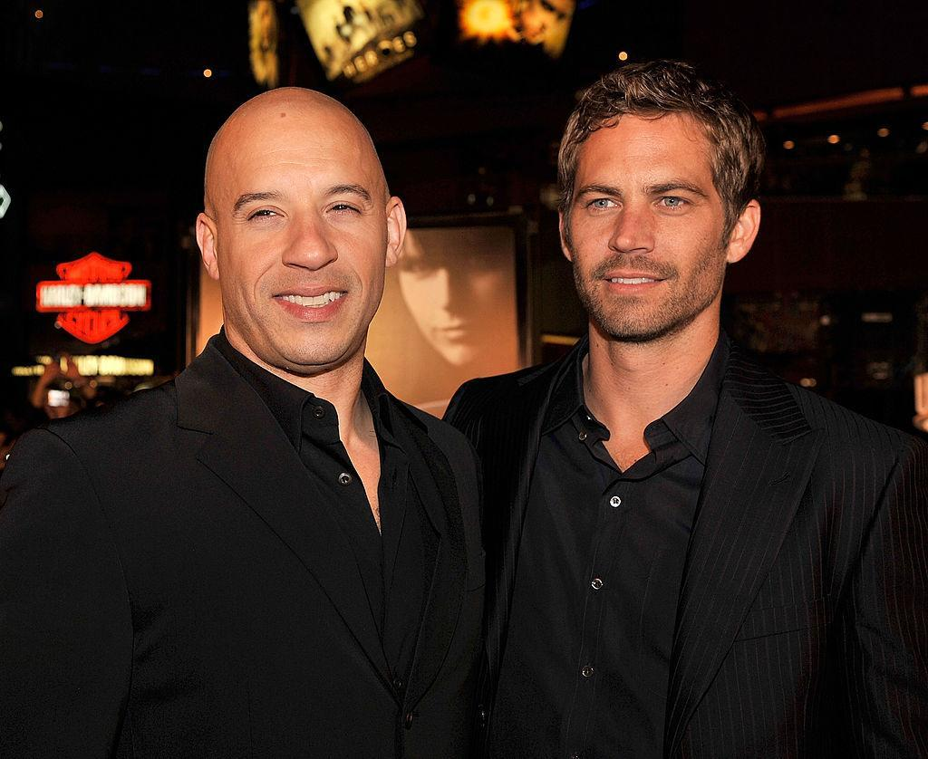 Vin Diesel and Paul Walker attend the premiere of Fast & Furious. (Photo: Kevin Winter/Getty Images)