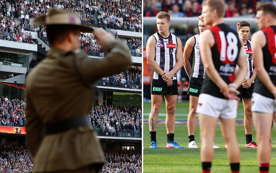 The AFL has come under fire for scheduling Birds of Tokyo to play before the annual Anzac Day match between Essendon and Collingwood. Pictures: GETTY IMAGES
