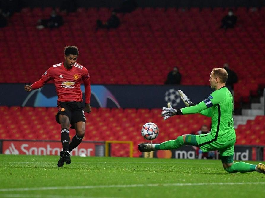<p>United are all but through</p>Getty