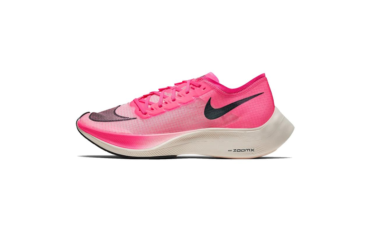 "The rare shoes that are as fast as they look. —Sam Schube $250, Nike. <a href=""https://www.nike.com/t/zoomx-vaporfly-next-running-shoe-ldKGBV/AO4568-600"">Get it now!</a>"