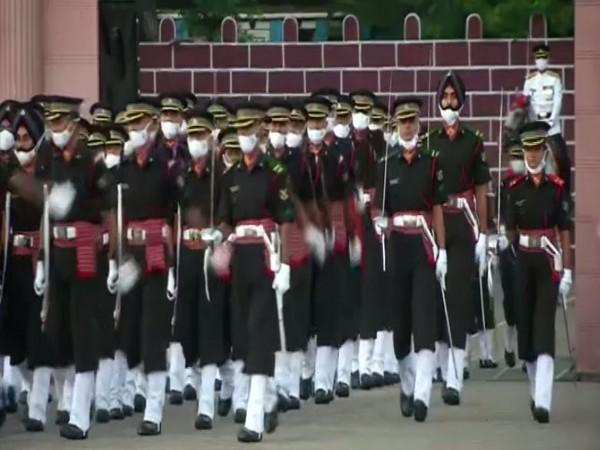 Visual from the Passing out Parade Ceremony