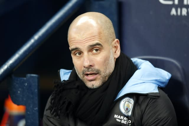 Manchester City manager Pep Guardiola is currently in Spain