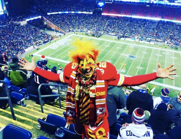 Chiefs superfan