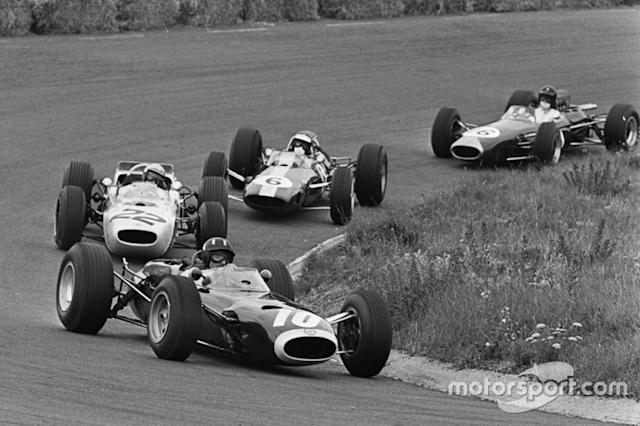 "Graham Hill, Richie Ginther, Jim Clark, Dan Gurney <span class=""copyright"">Eric Koch</span>"