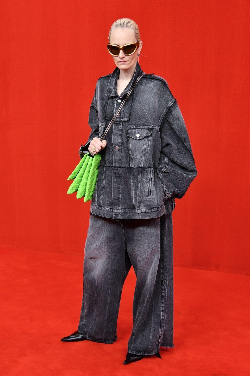 <p>Even as things return to normal, it seems that designers are struggling to figure out the next big move when it comes to fashion shows. Pre-pandemic, there was a definite feeling that the system needed to change. Well, it may just be that Demna Gvasalia has started to figure it all out. For the spring 2022 Balenciaga show, the designer had industry guests, models, and celebs walk the red carpet before entering a screening room to view everyone else arrive. This was followed by an original Balenciaga-themed Simpsons episode that had everyone in the room laughing. The audience essentially became the show.</p>
