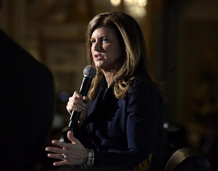 Interim Conservative Party Leader Rona Ambrose says she's upset by Brad Trost's 'hurtful' gay pride comments. Photo from CP